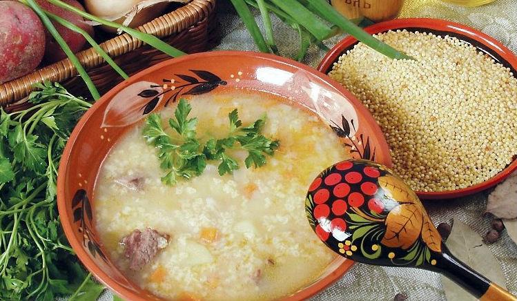 Пшенный суп в мультиварке: рецепт с фото