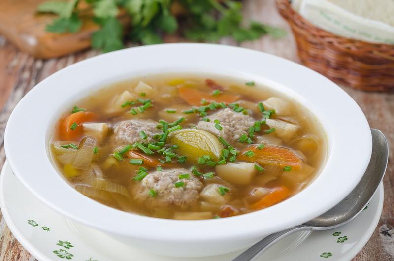 Суп с фрикадельками в мультиварке: рецепт с фото