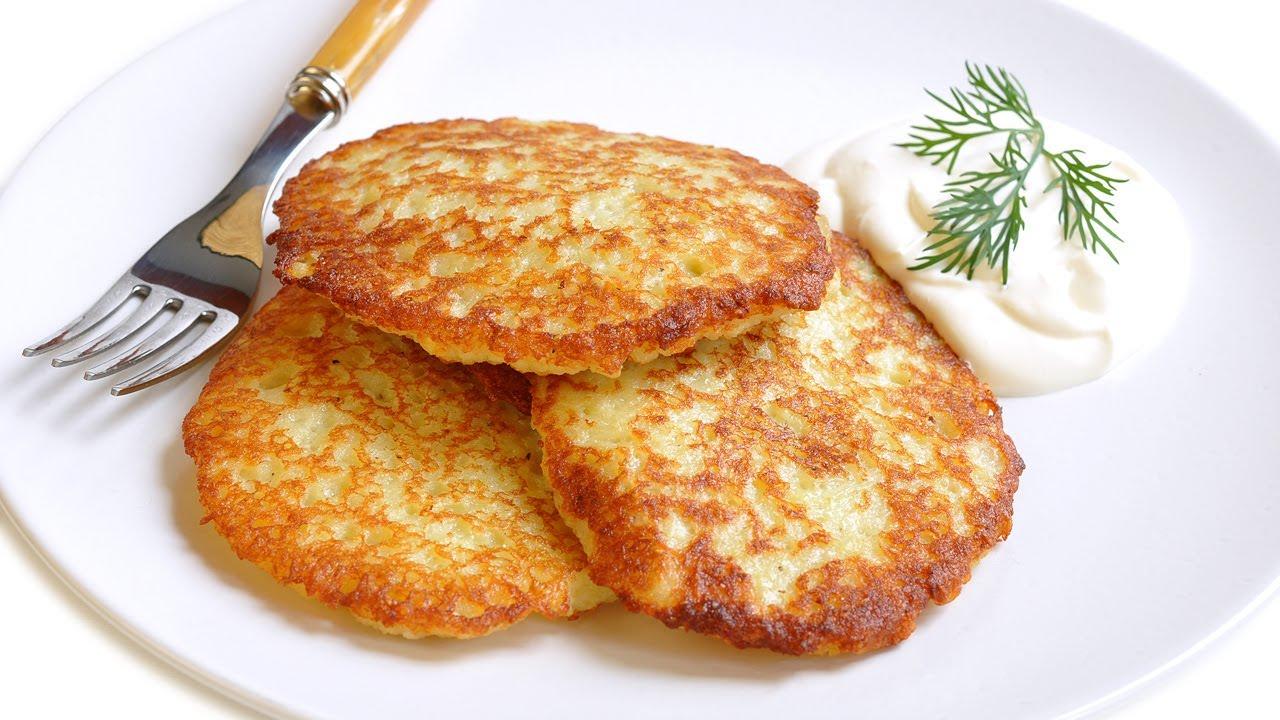 Картофельные драники в мультиварке: рецепт с фото