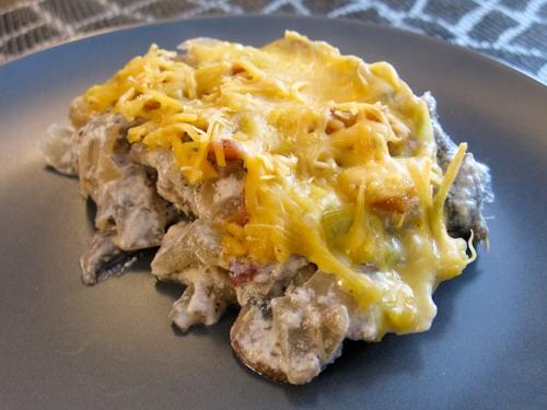 Жульен с картошкой в мультиварке: рецепт с фото