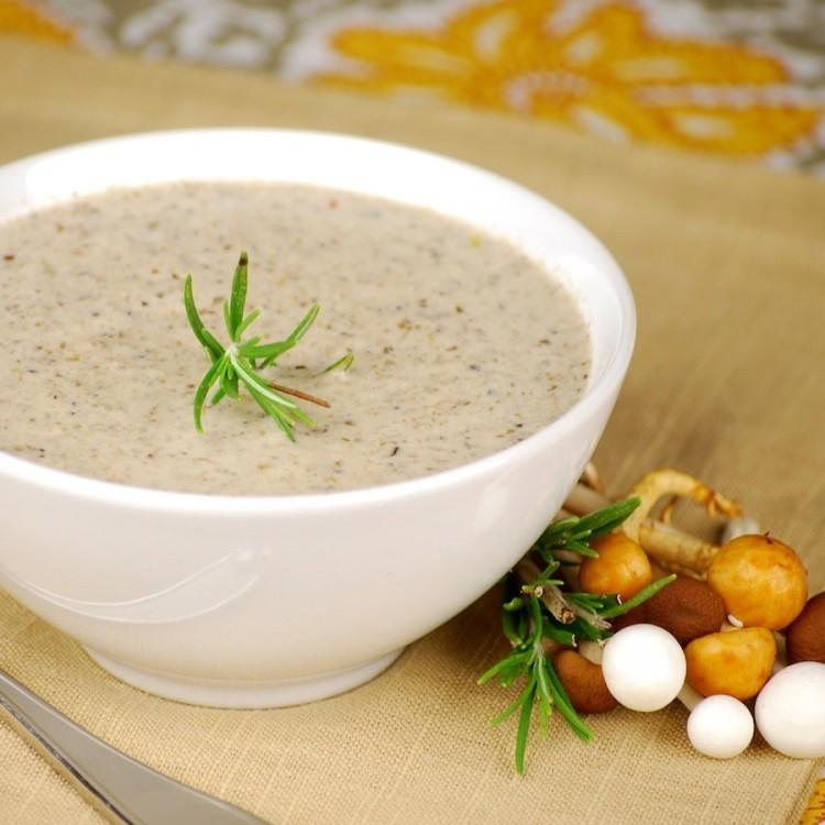 Грибной суп-пюре в мультиварке: рецепт с фото