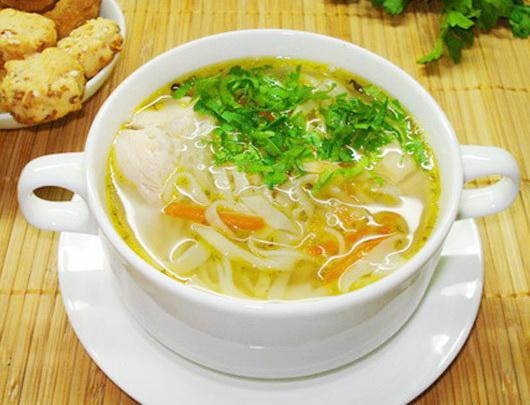 Суп с лапшой и курицей в мультиварке: рецепт с фото