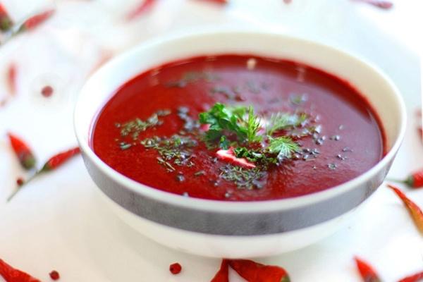 Свекольный суп в мультиварке: рецепт с фото