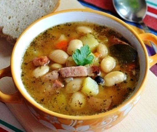 Суп с фасолью и грибами в мультиварке: рецепт с фото