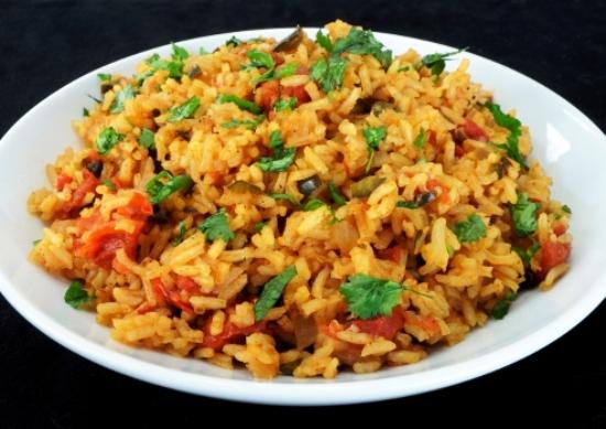 Рис с мясом и овощами в мультиварке: рецепт с фото
