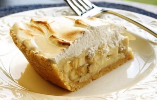 Банановый пирог в мультиварке: рецепт с фото