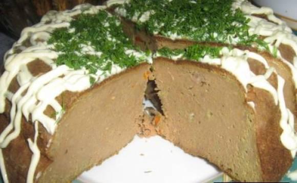 Нежное суфле из куриной печени в мультиварке: рецепт с фото