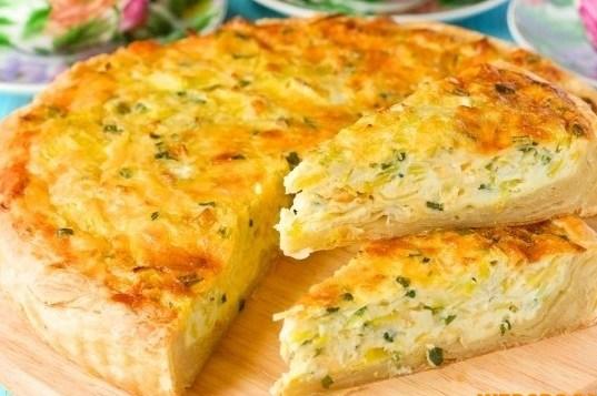Закусочный пирог с сыром в мультиварке: рецепт с фото