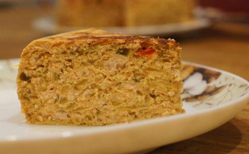 Пирог из куриной печени с капустой в мультиварке: рецепт с фото