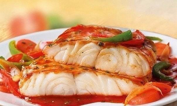 Филе белой рыбы с креветками в мультиварке: рецепт с фото