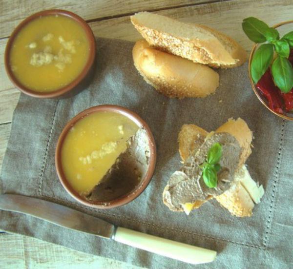 Парфе в мультиварке из куриной печени: рецепт с фото