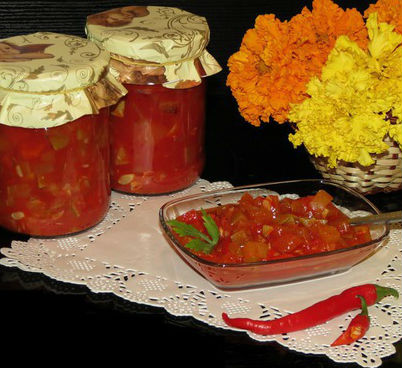 Салат на зиму из кабачков и перца в мультиварке: рецепт с фото