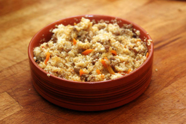 Каша пшенная с овощами и мясом в мультиварке: рецепт с фото