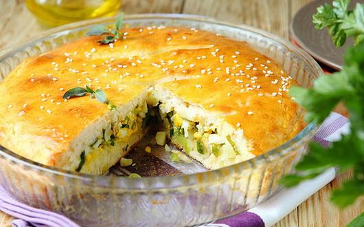 Пирог с капустой и грибами в мультиварке: рецепт с фото