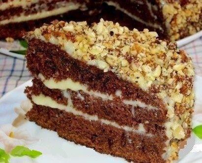 Шоколадный тортик в мультиварке: рецепт с фото