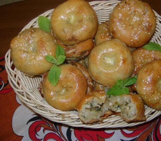 Мини-булочки с капустой в мультиварке: рецепт с фото