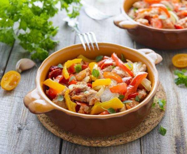 Рагу вегетарианское в мультиварке: рецепт с фото
