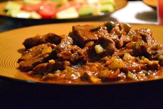 Густая грузинская солянка с говядиной в мультиварке: рецепт с фото