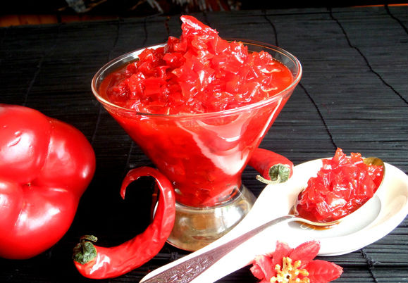 Конфитюр из болгарского сладкого перца в мультиварке: рецепт с фото
