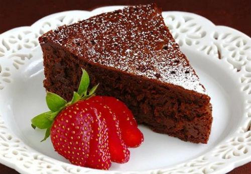 Кекс шоколадный в мультиварке