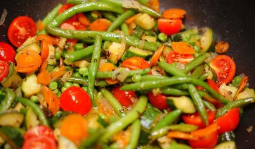 Овощи карри тушеные в мультиварке