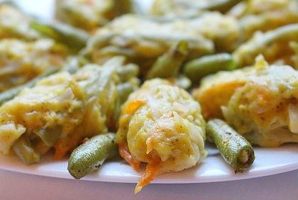 Котлеты овощные со стручковой фасолью на пару в мультиварке: рецепт с фото