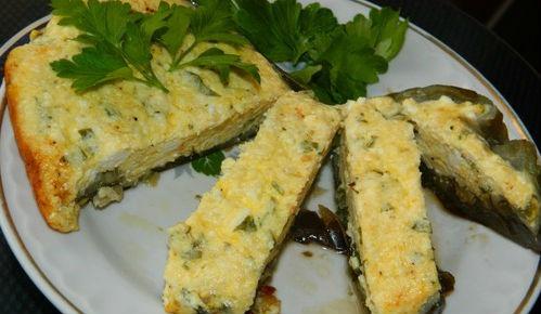 Баклажаны фаршированные творожно-сырной начинкой в мультиварке: рецепт с фото