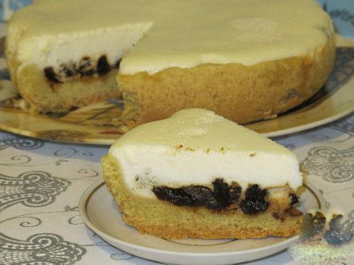 Пирог на песочном тесте с черносливом: рецепт с фото