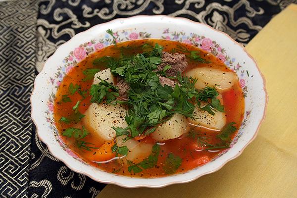 Суп шурпа в мультиварке: рецепт с фото